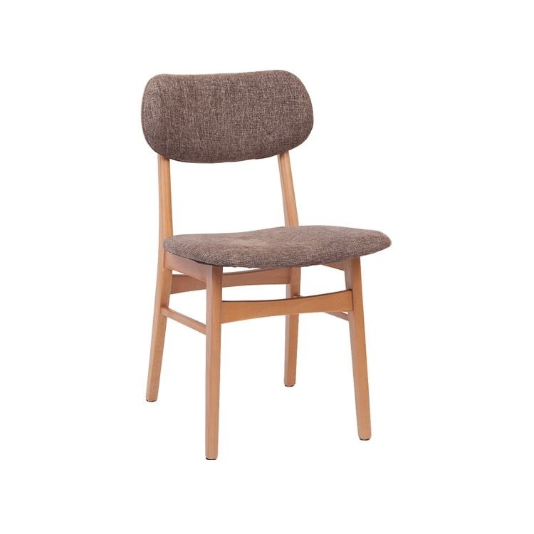 Hot Sale Oak Solid Wood Modern Dining Chair