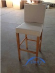 Wooden Barchair HN-BC-01